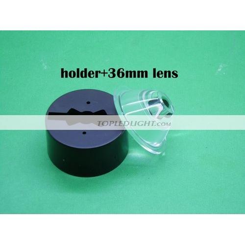 10pcs 30-Grad-LED-Objektiv für 1W 3W 5W Hight Power LED mit HalteRSDE