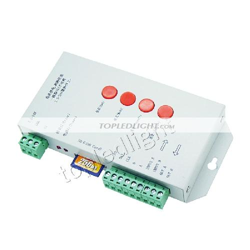 T-1000S SD Card 2048 Pixel LED Controller Support IC LPD6803