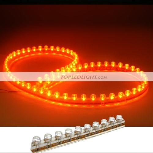 Led flexible strip lights 48cm orange led light great wall strip flexible waterproof 12v dc aloadofball Image collections