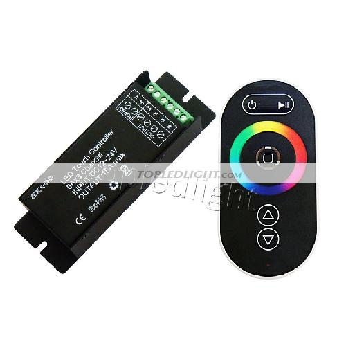 77450454ee5 RF Wireless Touch Panel Remote Controller RGB LED Dimmer For RGB LED Strip  Light  BY-CON-SZ100B  - US 25.99   Topledlight