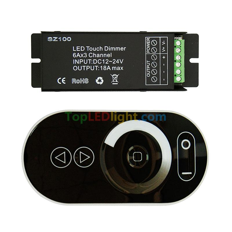 Wireless Led Touch Panel Remote Controller Pwm Dimmer For