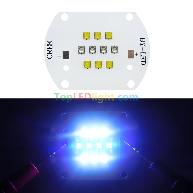 cree xt e led cool white and royal blue multichip for coral grow light. Black Bedroom Furniture Sets. Home Design Ideas