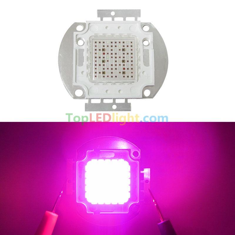 New 100w 100 Watt Full Spectrum 7 Band High Power Led Multichip Array Grow Light Kw 100gl7ch Us 59 99 Topledlight