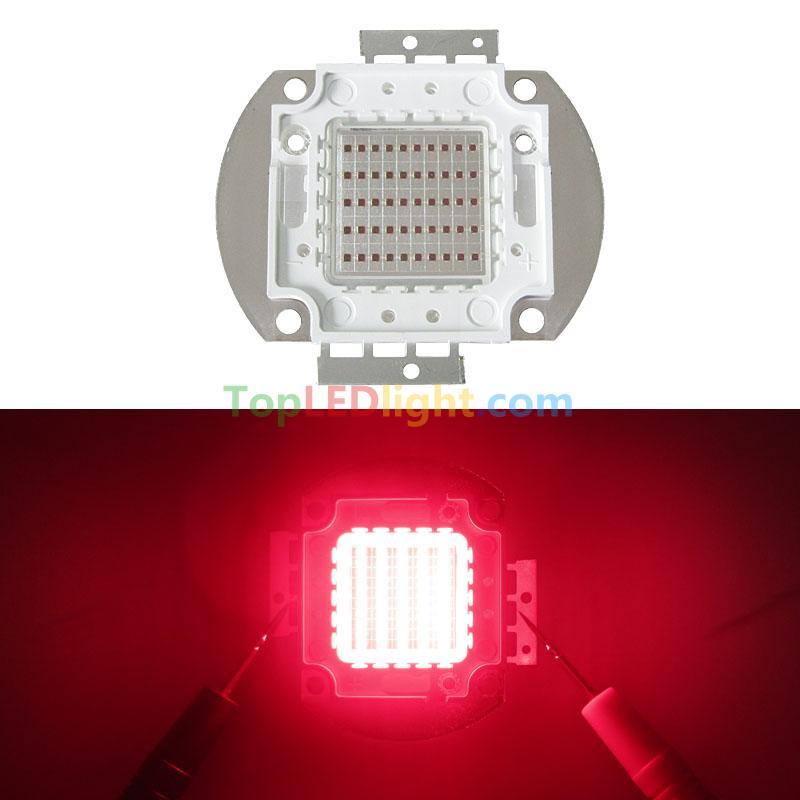 50W 660nm Deep Red Crimson High Power LED Multichip Light Bulb Lamp