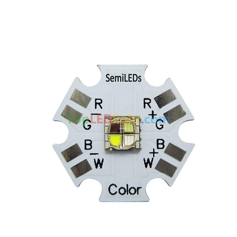 Semileds 5050 Rgbw Rgb White High Power Mixing Color Led