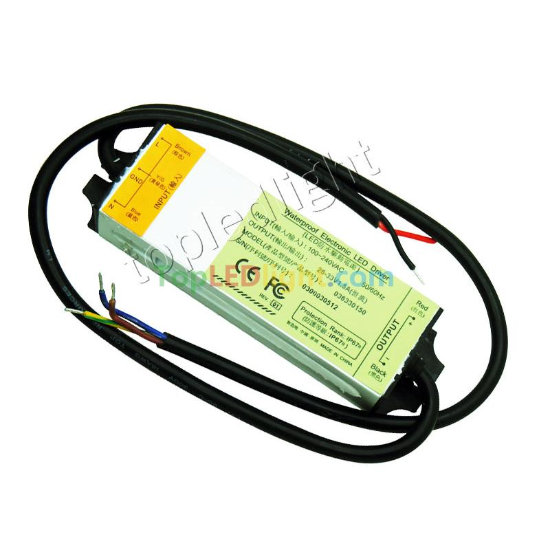 50w Led Driver Power Supply: 50W Waterproof LED Driver Power Supply Output 33V-36V 1.5A