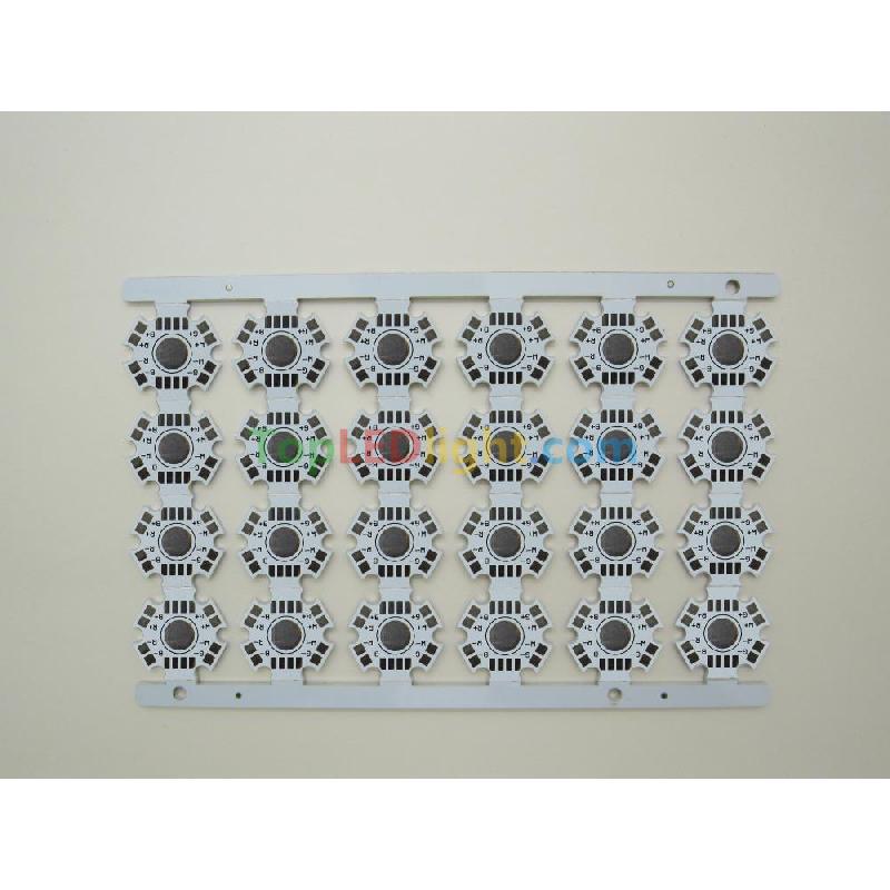 20mm Star PCB Board Aluminium Heatsink Base Plate For RGBW RGB ...