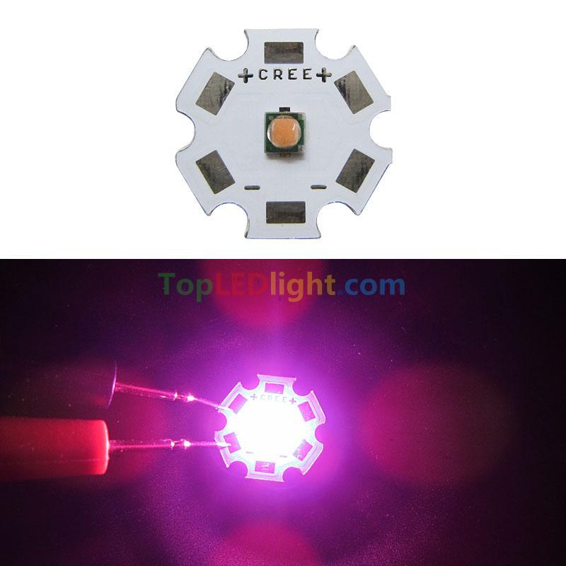 3w 3 Watt Full Spectrum 380nm 840nm Lg Chip Led Grow Light