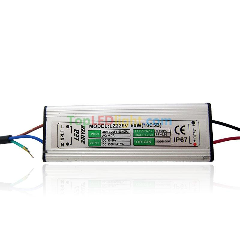 50w Led Power Supply: 50W High Power LED Driver Constant Current Power Supply DC