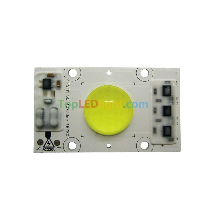 50W 50 Watt White COB High Power LED Light Waterproof 220V Free Driver [KW-DH50WH220V] - US$6.00 : Topledlight